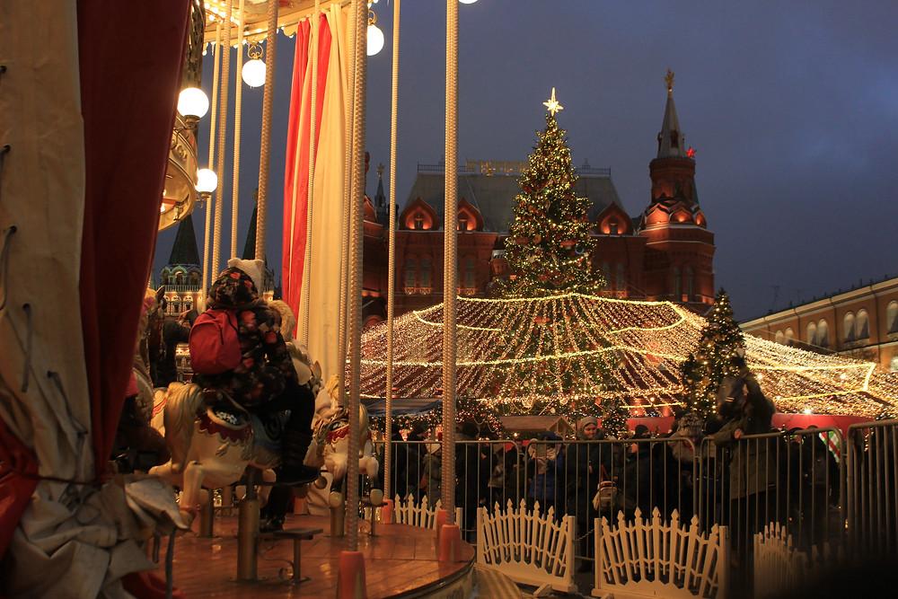 Атмосфера праздника в самом сердце Москвы