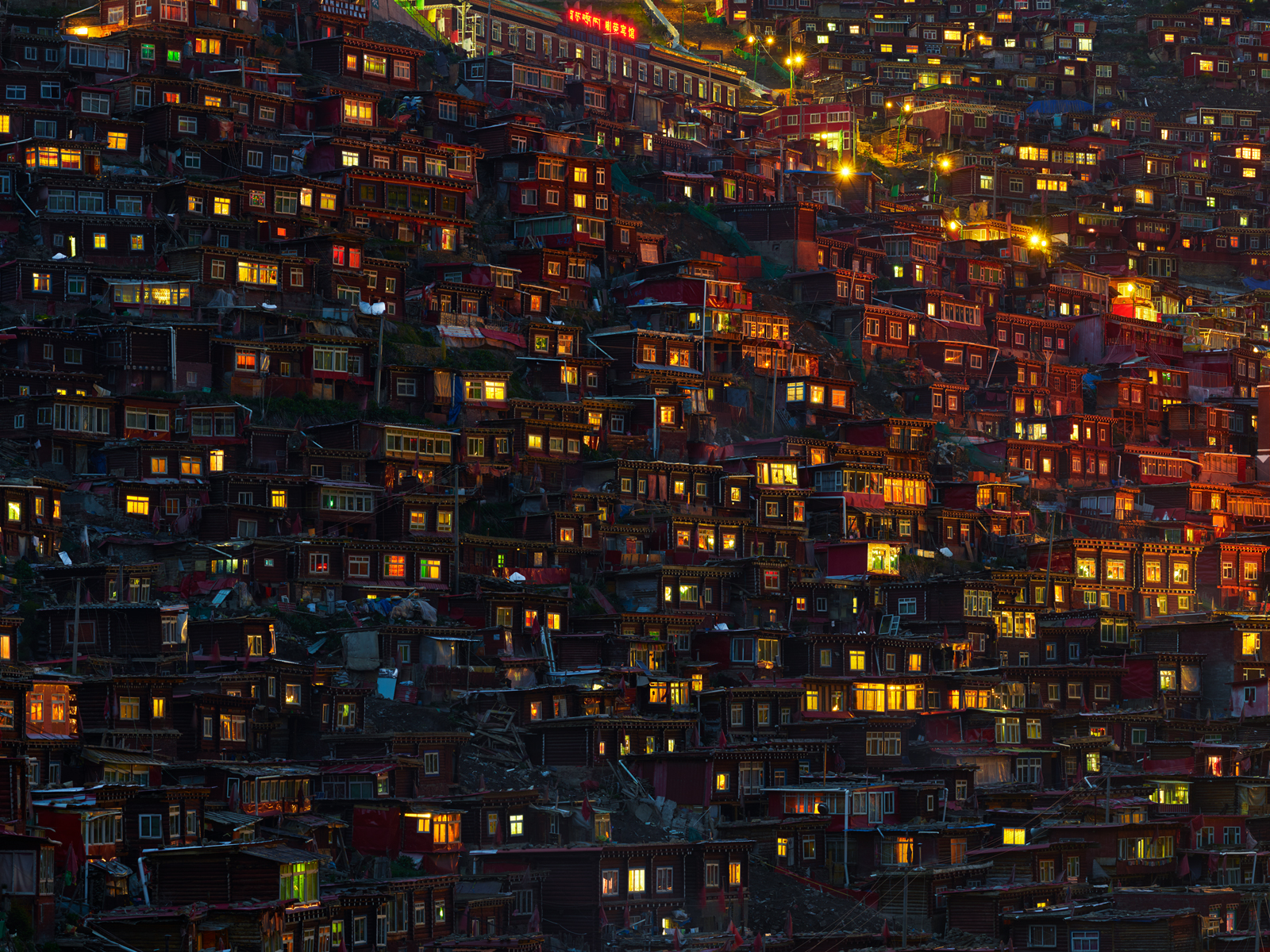 Larung Gar Buddhist Academy, China
