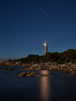 The Eddystone Point Lighthouse