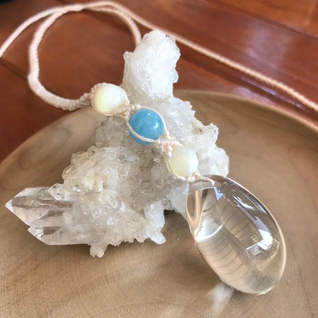 Crystal Quartz & Aquamarine Necklace.jpg