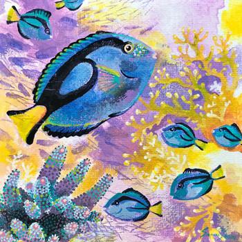 Palette-surgeonfish-Family