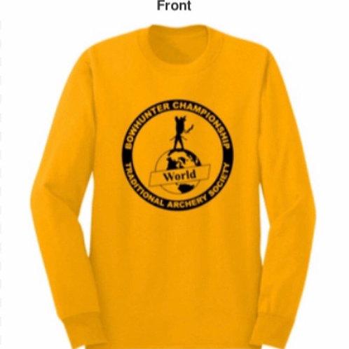 TAS Yellow Long sleeve shirt