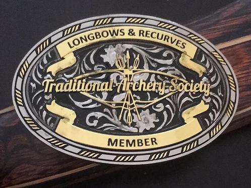 TAS Membership Belt Buckle