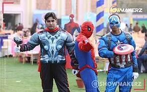 Superhero Theme Family Day Event