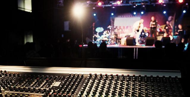 audio visuals, event lighting and sound