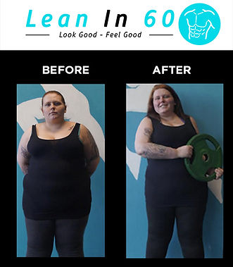 Zoe Lean in 60 Befor and after Weight loss Bognor