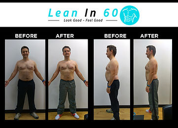 John Lean in 60 Befor and after Weight loss Bognor