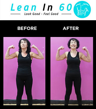 Patricia Lean in 60 Befor and after Weight loss Bognor