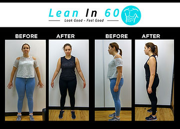 Poppy Lean in 60 Befor and after Weight loss Bognor