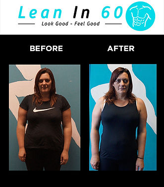 Lean in 60 Befor and after Weight loss Bognor Regis