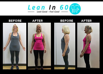 Janet Lean in 60 Befor and after Weight loss Bognor