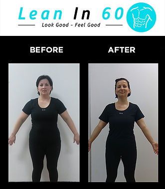 Agga Lean in 60 Befor and after Weight loss Bognor