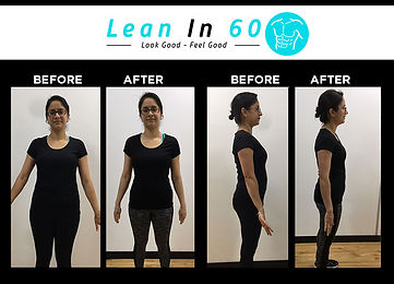 Kam Lean in 60 Befor and after Weight loss Bognor