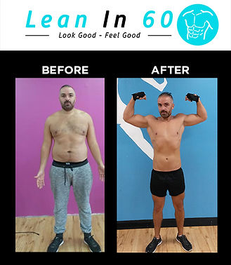 Lean in 60 Befor and after Weight loss Ramzi
