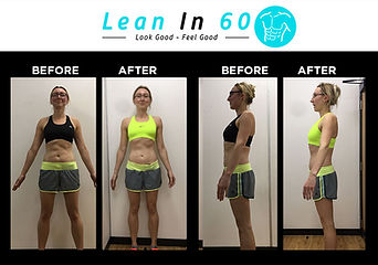Lean in 60 Befor and after Weight loss Bognor toned Renarta