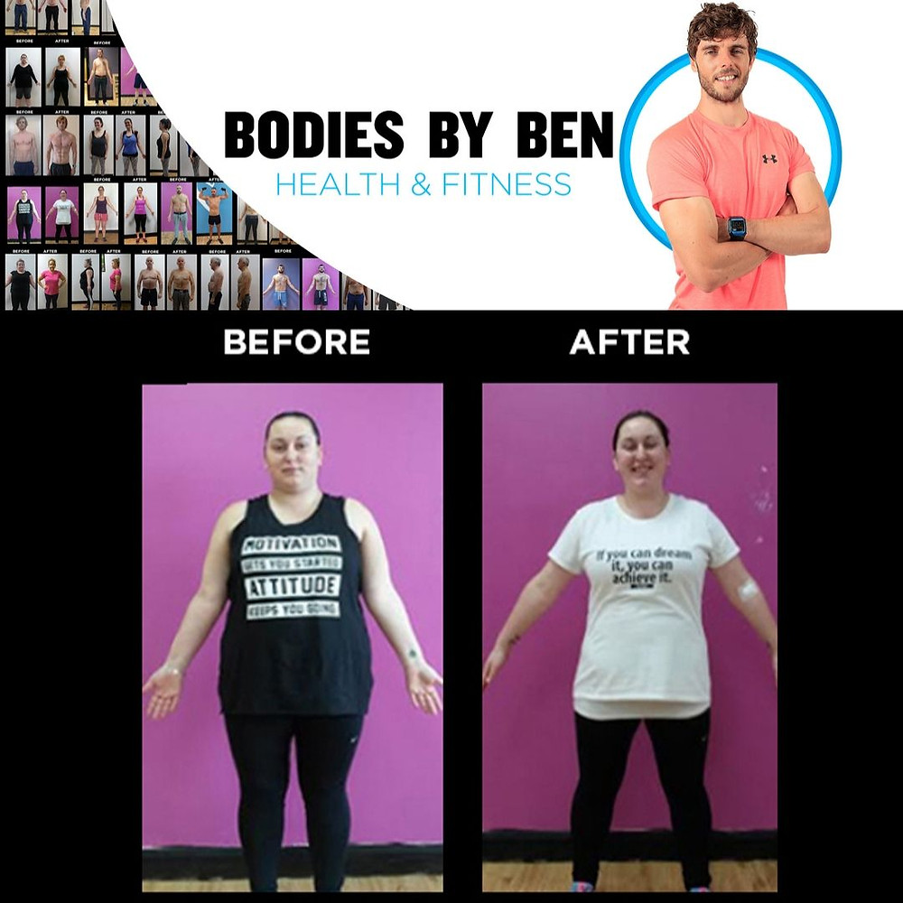 Kam Weight loss transformation PT Bodies By Ben