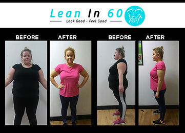 Lean in 60 Befor and after Weight loss Lidka