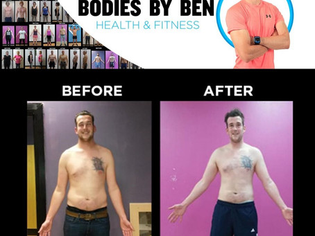 Luke Body Fat Reduction Befor And After