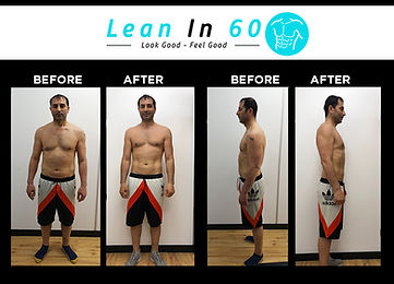 Yazar Lean in 60 Befor and after Weight loss Bognor