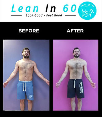 Tom Lean in 60 Befor and after Weight loss Bognor