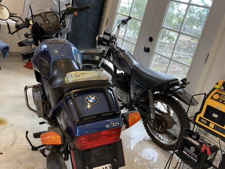 1986 BMW k75 ready for resto or cafe racer?