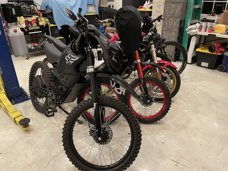 Turning into a two wheeled shop
