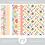 Thumbnail: Kit Digital Scrapbook Papelaria - Coleção Fun In The Sun Papéis
