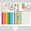 Thumbnail: Kit Digital Scrapbook Papelaria - Coleção Make a Wish Completa