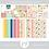 Thumbnail: Kit Digital Scrapbook Papelaria - Coleção Fun In The Sun