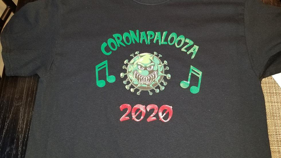 coronapalooza T-shirt