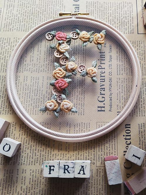 Una lettera per te/fiori di lana