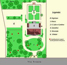 Planimetria Villa