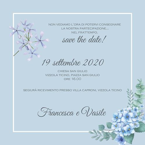 Change the date - personalizzato