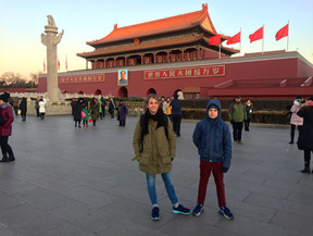 We are ready for the Forbidden City!