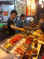 Tsim Tsa Tsui food stalls!