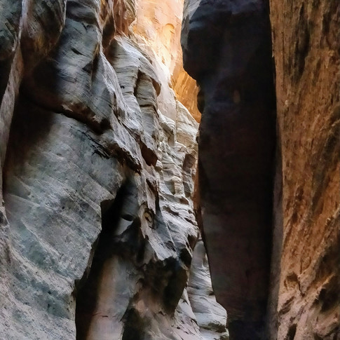 ZION NATIONAL PARK - NARROWS TRAIL (DOWN-UP)