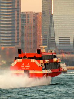 Jetfoil returns to HK