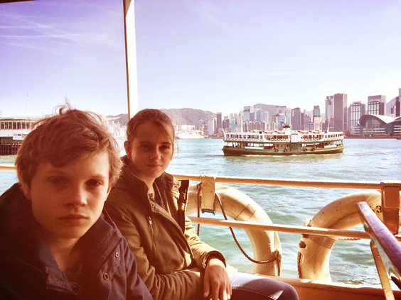The Star Ferry to Central