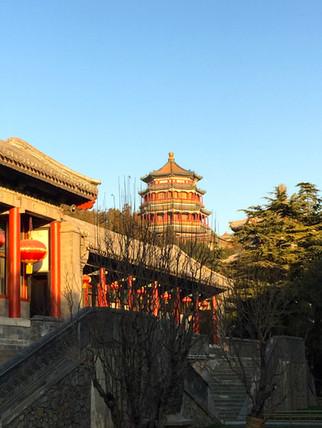 Tower of Buddhist Incense (佛香阁; 佛香閣; Fóxiānggé)