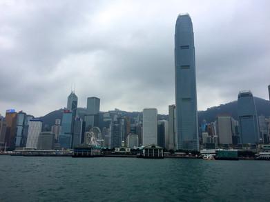 HK Island skyline