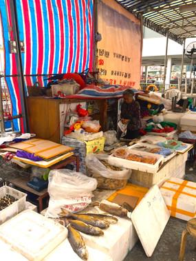 Aberdeen fish stall