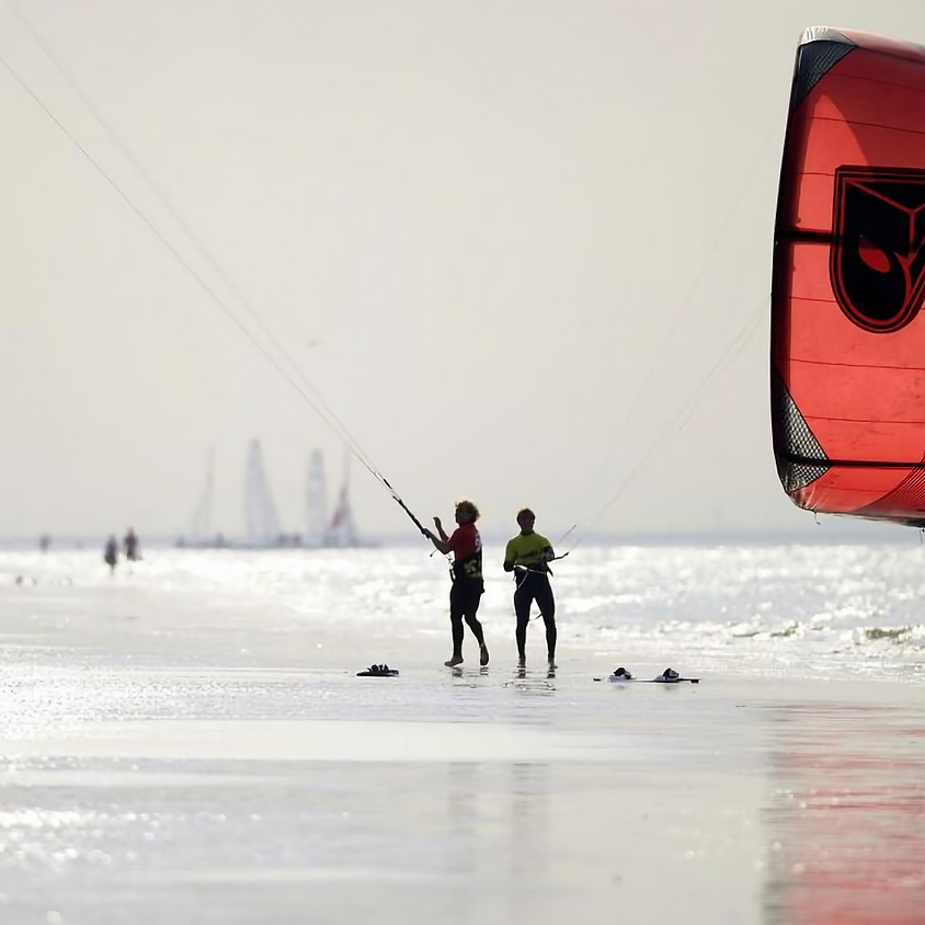 Bijscholing tot kitesurf redder
