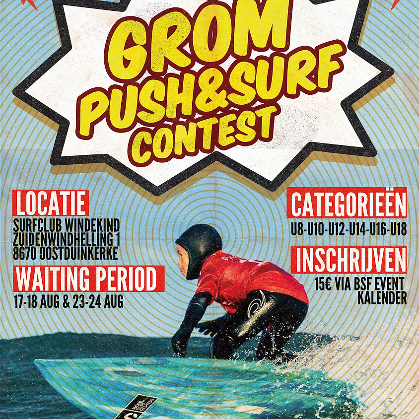 Grom Push & Surf Competition