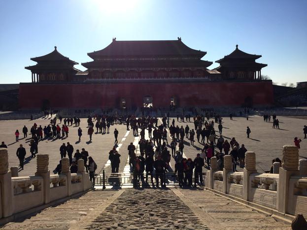 Massive Forbidden City Temples