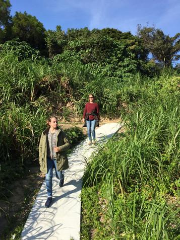 trail to Lo So Shing beach