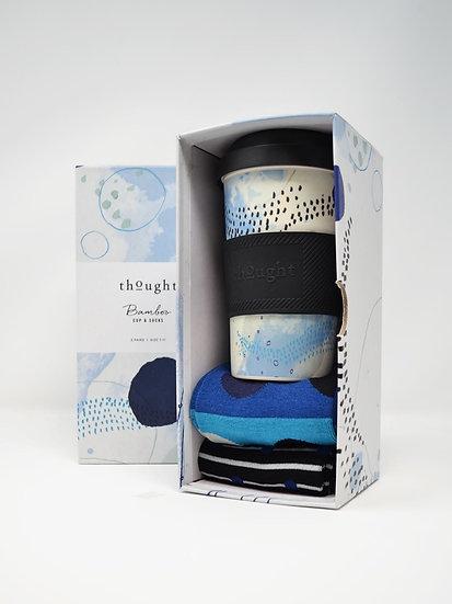 Thought: Jarrold Bamboo Socks & Cup Gift Set (Mens)