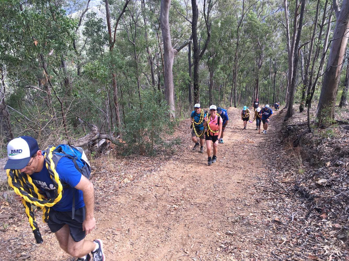 Mt Nebo to the Gap