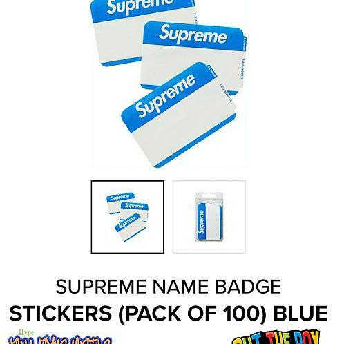 Supreme Blue NameTags
