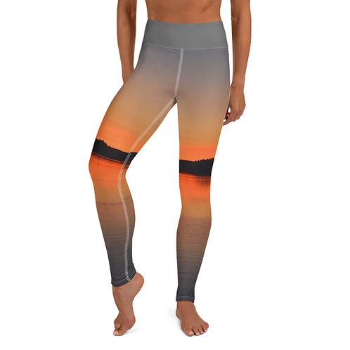 Penn Cove Sunrise Yoga Leggings