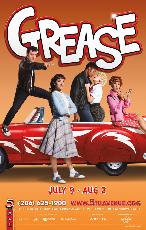 Grease - Musical: Main Poster